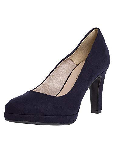 Tamaris Damen 1-1-22408-24 Pumps, Blau (Navy 805), 37 EU