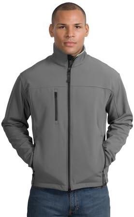 Port Authority Glacier Soft Shell Jacket, Smoke Grey
