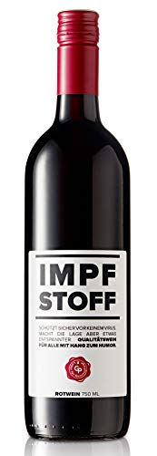 IMPFSTOFF Wein Merlot 0,75 Liter Rotwein 11.6% Vol.
