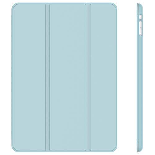 JETech Hülle Kompatibel iPad Mini 1 2 3, Schutzhülle mit Ständer Funktion & Auto Einschlafen/Aufwachen, Hellblau