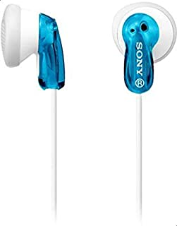 Sony MDR E9 Headphones - Blue