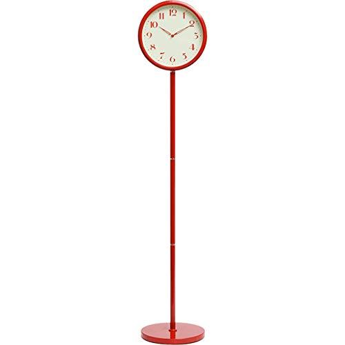 Reloj de mesa Reloj de pie Moderno Minimalista Reloj Vertical Gran Reloj Europeo Decoración Mute Se Puede Montar Sentado Reloj de Tierra