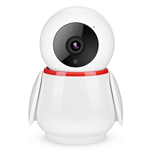 Hancoc Webcam 1080P WiFi bebé monitor de seguridad, cámara HD IP de WiFi de la nube de seguridad inalámbrica Pingüino en forma de visión nocturna de la cámara, soporte for almacenamiento en la nube de