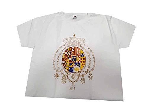 maglia napoli buitoni Generico Super T-Shirt Maglia Bianca Stemma BORBONICO delle Due SICILIE Taglie S M L XL XXL Adulto Omaggio Portachiavi