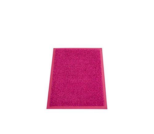Miltex Eazycare Pro Schmutzfangmatte, Polyamid & Nitril Gummi-Rücken, pink, 60 x 40 cm