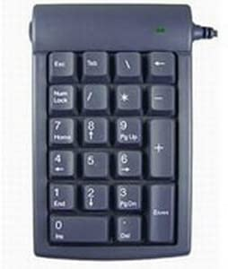 Genovation, Inc - Genovation Micro Pad Numeric Keypad - Usb - 21 Keys - Gray