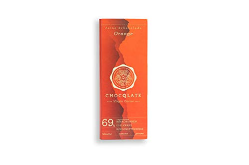 Chocqlate | Virgin Cacao Schokolade Orange 69% 75g
