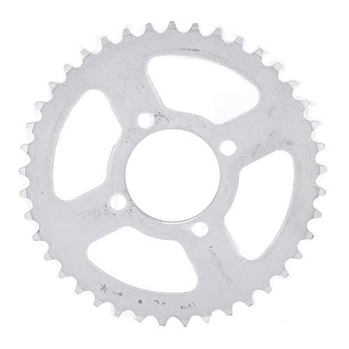 RiToEasysports Piñón de Cadena Trasero, 420 52mm 41T Piñón Trasero de Acero para Bicicleta eléctrica Kart Motocicleta