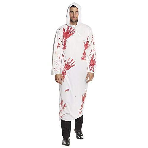 Boland 79124 - Costume di Carnevale, da Adulto, Taglia M/L, Bianco/Rosso