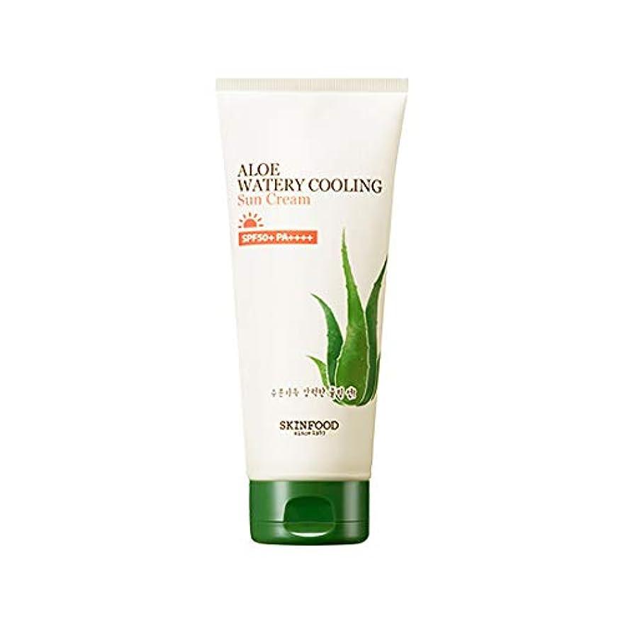 再生可能カンガルー怠感Skinfood アロエ水冷サンクリーム/Aloe Water Cooling Sun Cream 200g [並行輸入品]
