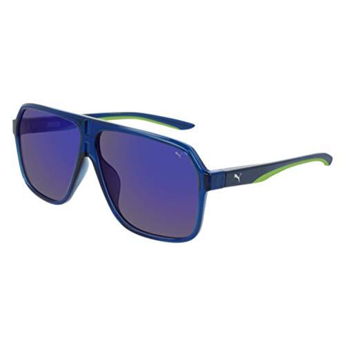 Puma sonnenbrille PU0194S 004 blau blau größe 61 mm mann