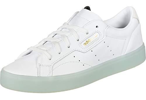adidas Sleek W Damen-Kletterschuhe, Weiß - Weiße weiße Eisminze. - Größe: 37 1/3 EU