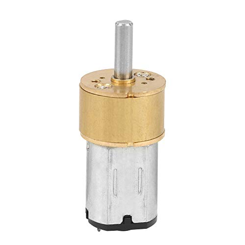 DC6V Mini Gear Motor, Micro Speed Reduction Motor, Verschleißfest für Robotermodell RC Car(6V 300RPM)