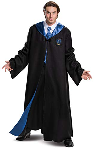 Disguise Harry Potter Ravenclaw Robe, Black & Blue, XL (42-46)