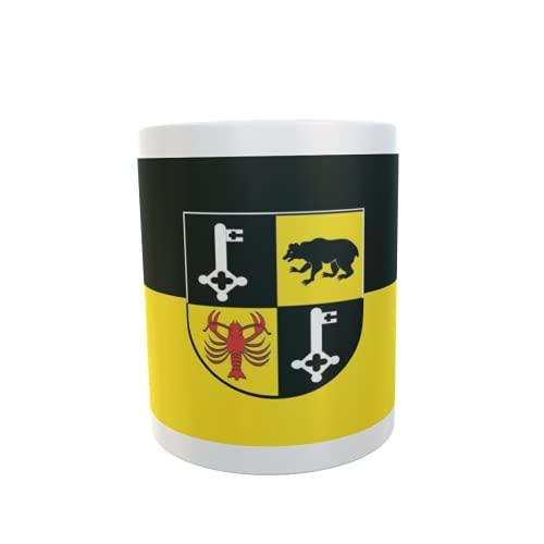 U24 Tasse Kaffeebecher Mug Cup Flagge Bernkastel-Kues
