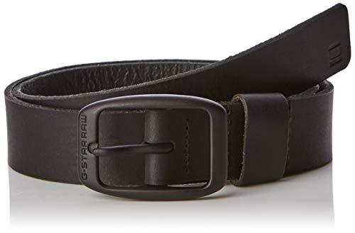 G-STAR RAW Bryn Belt Cinturón, Negro (Black/Matt Black Metal 406), 110 (Talla del Fabricante: 95) para Mujer (Ropa)