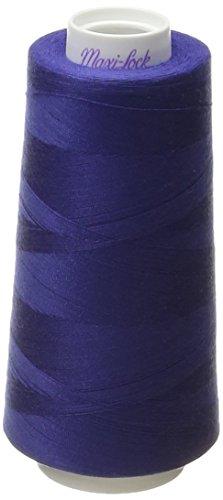 American & Efird Maxi-Lock Cone 3000 yds Royal Blue Thread