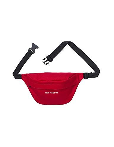 Carhartt Hüfttasche Payton Hip Bag Cardinal/White one size rot