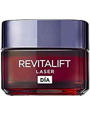 L'Oréal Paris Revitalift Láser Crema de Día Anti-Edad Intensiva, Con Pro-Xylane, 50 ml