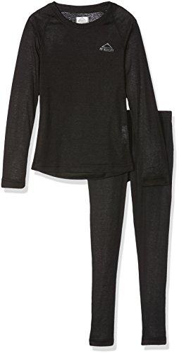 McKINLEY Kinder Wäsche-Set Yahto/Yaal Unterwäscheset, Black Night/Black NI, 104