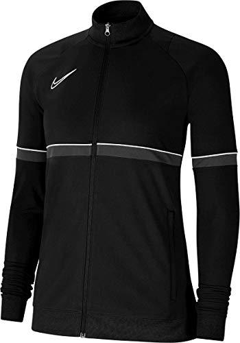 NIKE Chaqueta para mujer Academy 21 Track Jacket, Mujer, CV2677-014, negro/blanco/gris oscuro, medium