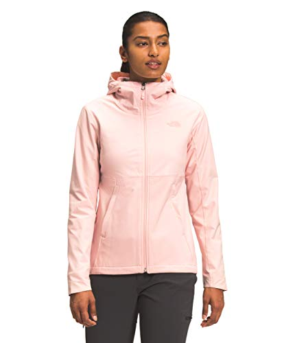 The North Face Women's Shelbe Raschel Hoodie, Pearl Blush, XL
