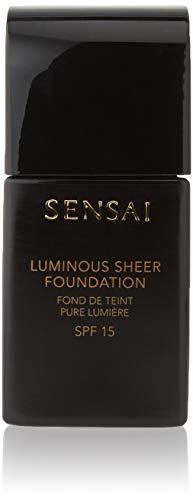 Kanebo Sensai Luminous Sheer Base de Maquillaje SPF 15 Tono 204 Honey Beige - 30 ml