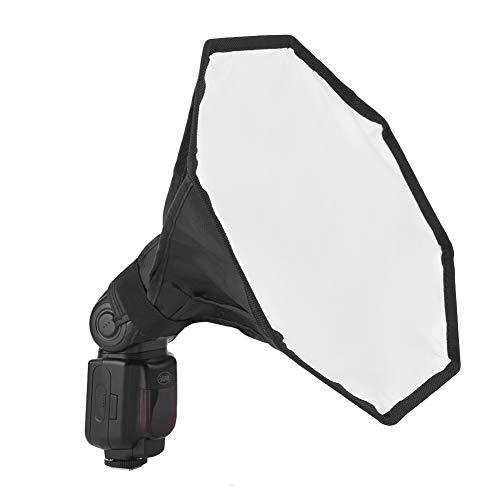 DAUERHAFT Materiale in Tessuto per diffusore Flash con Materiale Riflettente, Adatto per Speedlite Esterno della Fotocamera Digitale