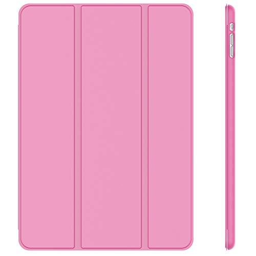 JETech Hülle Kompatibel iPad Mini 1 2 3, Schutzhülle mit Ständer Funktion & Auto Einschlafen/Aufwachen (Rosa)