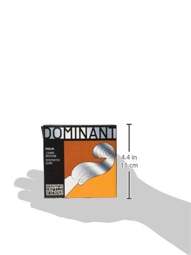 『Dominant ドミナント 4/4バイオリン弦セット(E線130MSスチール、ループエンド)』の6枚目の画像