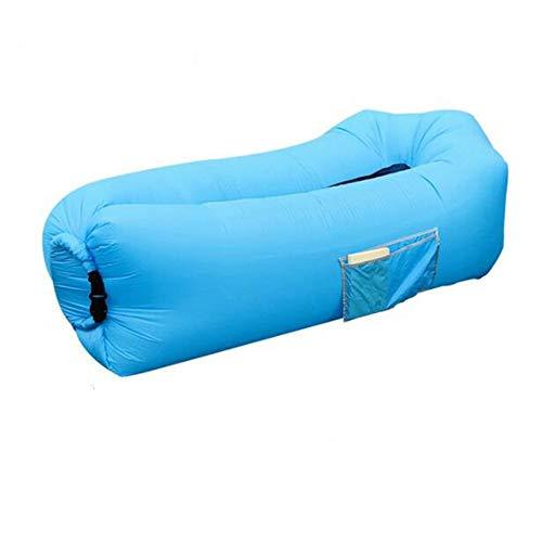 QIanguang Opblaasbare ligstoel, draagbaar, voor buiten, wandelen, kamperen, strand, vissen, reizen, slaapzakken, bed, waterdicht, duurzaam, zelfopblaasbare matrassen