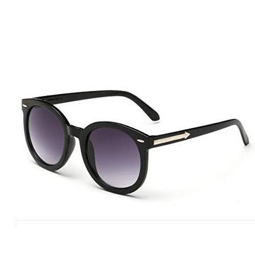 CHENG/ CHENG Sonnebrille Retro Runde Sonnenbrille Frauen Vintage Sonnenbrille Frau Metallpfeil Sonnenbrille