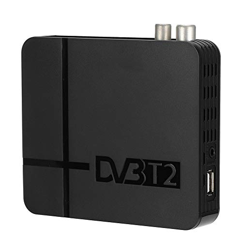 Mini T/T2 Receiver, 1920x1080P@30fps Full HD - HDMl VB-T/T2-Empfänger, USB2.0 PVR/Multimedia-Wiedergabe/Software TV-Empfänger - HDMI und USB-Mediaplayer