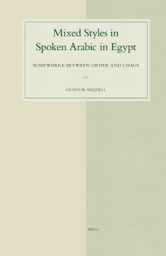 Mixed Styles in Spoken Arabic in Egypt: Somewhere Between Order and Chaos (STUDIES IN SEMITIC LANGUAGES AND LINGUISTICS, Band 48)