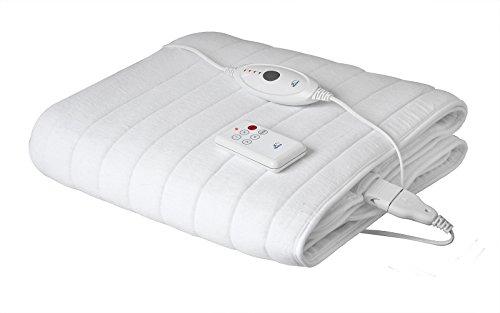 Hydas Wärmeunterbett Deluxe, optimale Wärme für das Bett, angenehmer Wohlfühlfaktor für schnelleres Einschlafen und einen ruhigen Schlaf (100 W, 150 x 80cm)