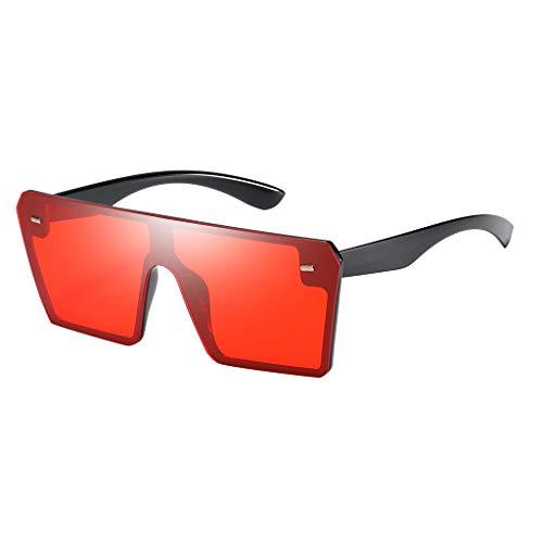 Storerine Mode Mann Frauen Oversize Square Sonnenbrille Brille Shades Vintage Retro Style S9048 Damen Herren große Linse Sonnenbrille Brille