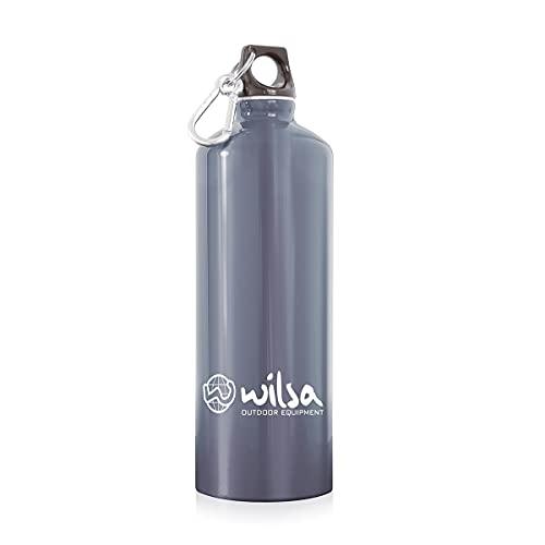Wilsa – Botella reutilizable – Botella de senderismo – 0,6 l