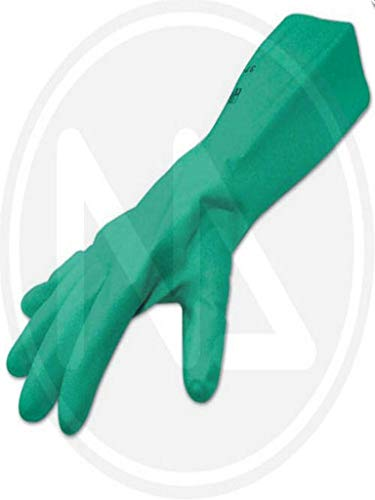 Maurer 15030845 Guante de nitrilo virgen alimentario, 33 cm, talla 10'
