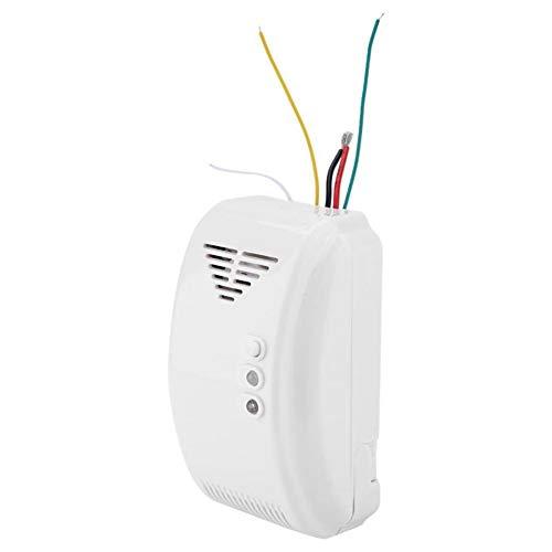 Sensor De Propano Butano 12V Detector De Gas Sensor De Alarma LPG Motor Natural Casa Camper LED Flash Alarma De Sonido