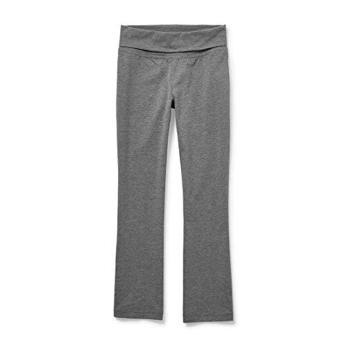 The Children's Place Girls' Uniform Active Foldover Waist Pants H/T Hound XL (14)