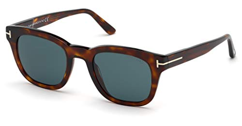 Tom Ford Sonnenbrillen EUGENIO FT 0676 RED HAVANA/GREEN Herrenbrillen
