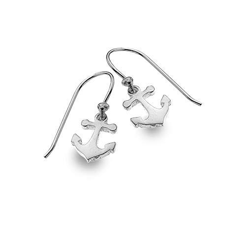 Anchor Drop Earrings Sterling Silver 925 Hallmarked Drops
