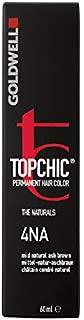 Goldwell Topchic Hair Color, 4na Mid Natural Ash Brown, 2.03 Ounce