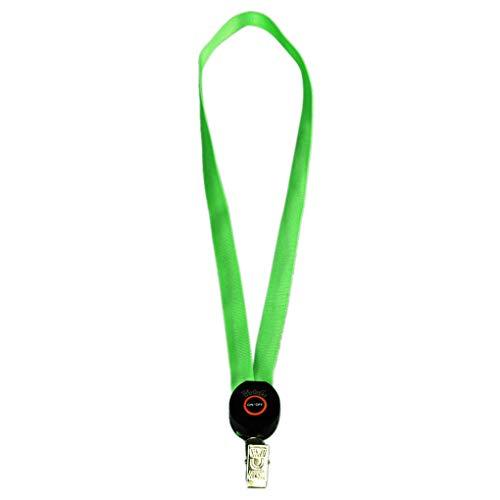 probeninmappx leuchten Lanyard Schlüsselanhänger ID Badge Halskette befestigt Halter Hangeltau