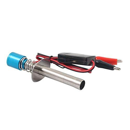 lahomia Encendedor de Arranque de Aleación de Aluminio RC Apto para HSP Modelo 94122 - Azul