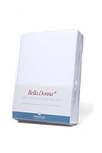 FORMESSE Bella Donna Matratzenschoner Edel-Molton für Matratzen 180x200cm bis 200x220cm