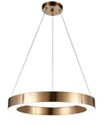 loonju italienische Design Kronleuchter Lampe Hotelprojekt Wohnzimmer Großer Ring Kronleuchter Indoor Haus Art-Deco-Roségold Kronleuchter, L