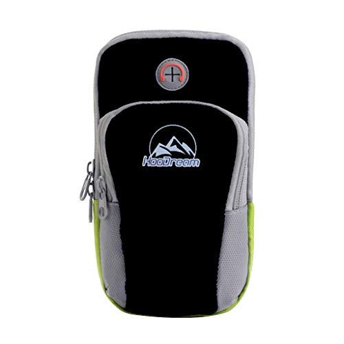 Sac de poche de poignet de course de sport de course en plein air étanche paquet de bras cyclisme, mini sac à dos pour adulte