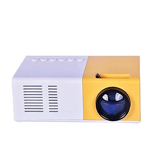 WYJW Mini proyector 1080P HD Proyector Ultra Draagbare Proyector LED Pico Proyector Ondersteuning Mobiele Telefoon Home Theater Cinema Multimedia Met Vga Kabel USB HDMI