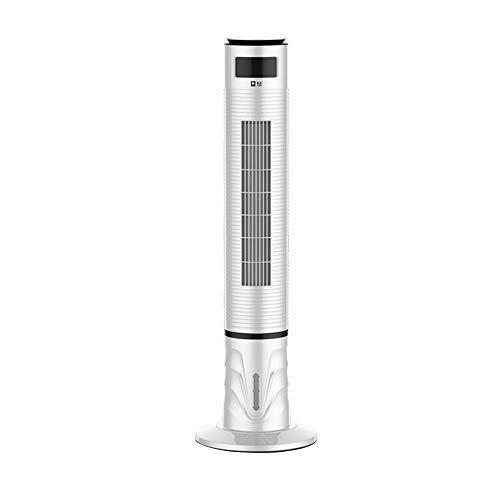 Ventilador De Torre De Enfriamiento De Agua Móvil Portátil 47 Pulgadas,3 Velocidades,Hogar Plus Hielo Ventilador Pequeño Ventilador De Aire Acondicionado con 4L Tanque De Agua, 50w
